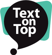 Text on Top logo